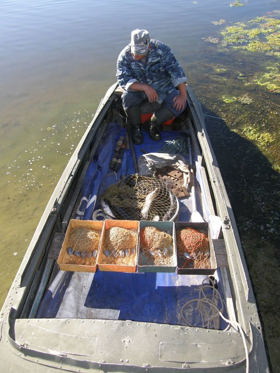 Кременчугский браконьер добывал сомов с помощью переметов (ФОТО), фото-5