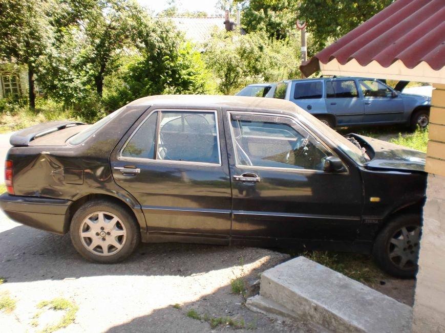 В Днепропетровске столкнулись два автомобиля (ФОТО), фото-1