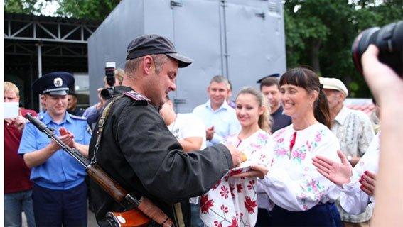 Бойцы Национальной гвардии Украины вернулись домой, в Кременчуг (ФОТО), фото-4