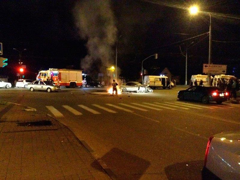 В Белгороде в аварии с мотоциклом погиб полицейский, фото-1