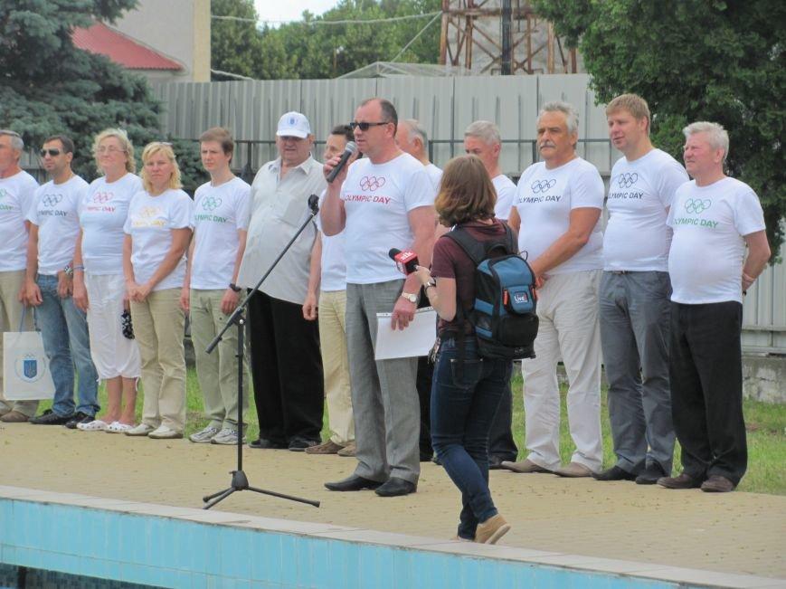 У Львові під час «Олімпійського дня» атлети вшанували загиблих на сході України (фоторепортаж), фото-1