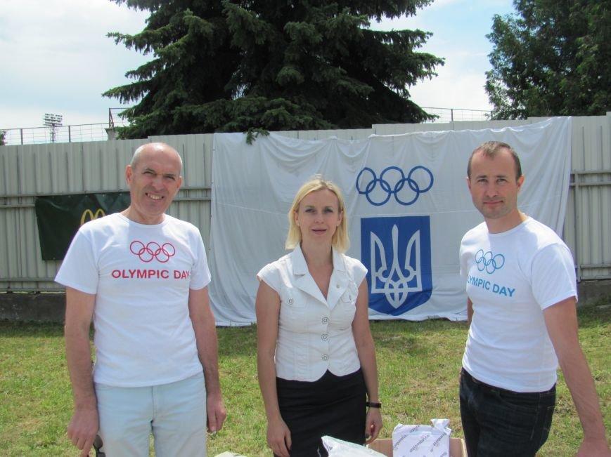 У Львові під час «Олімпійського дня» атлети вшанували загиблих на сході України (фоторепортаж), фото-13
