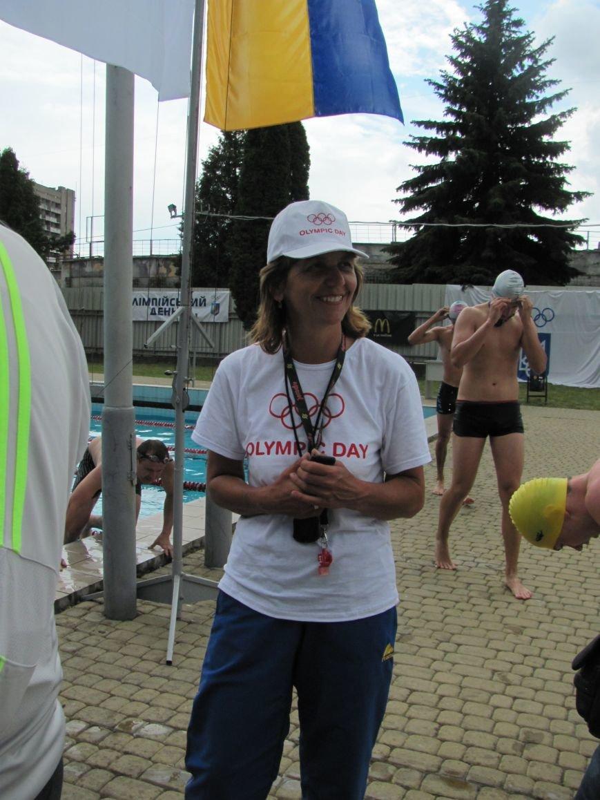 У Львові під час «Олімпійського дня» атлети вшанували загиблих на сході України (фоторепортаж), фото-14