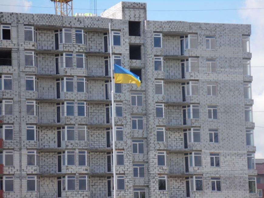 У Тернополі в рамках «Дворової cпартакіади» представили унікальну стіну єдності України (фото), фото-10