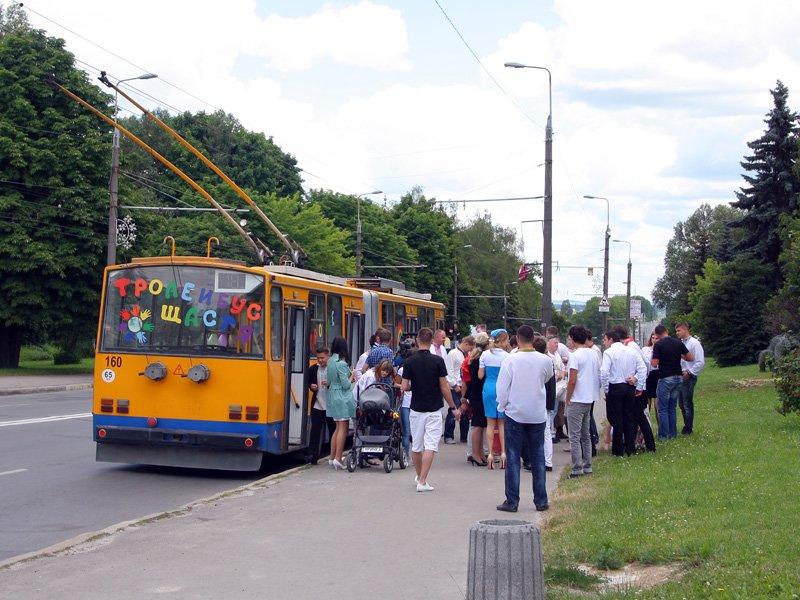 весілля у тролейбусі
