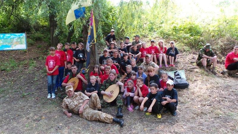 Одесские гайдамаки устроили лагерь в Савранском лесу (ФОТО), фото-3