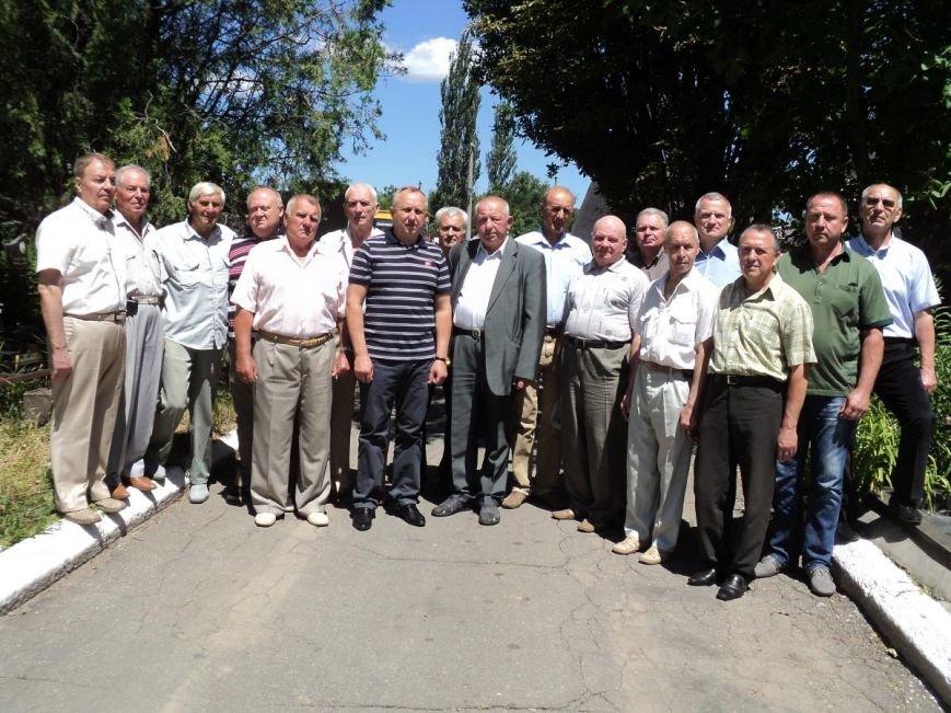 Ветераны пожарной охраны Кривого Рога почтили память своего руководителя, фото-1