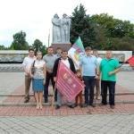 Молодые депутаты провели акцию«Знамена наших Побед», фото-2