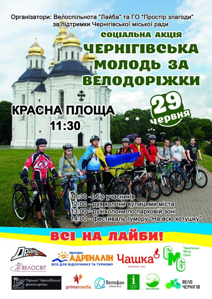 молодь за велодор афиша А3