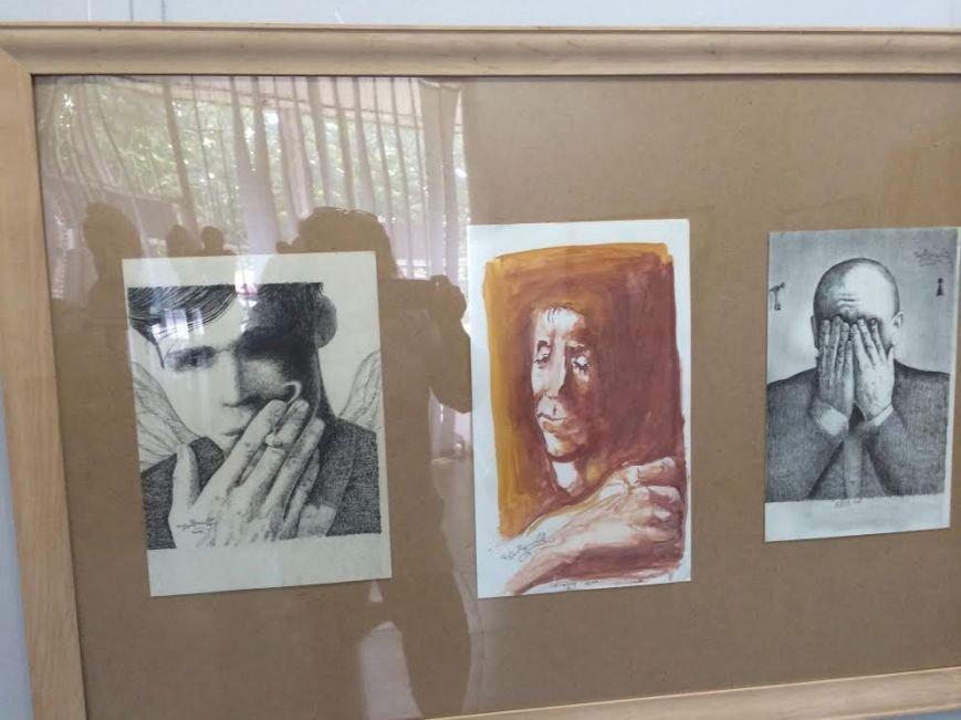 Мариупольский художник призвал не стрелять в маленьких ангелов (ФОТО), фото-5