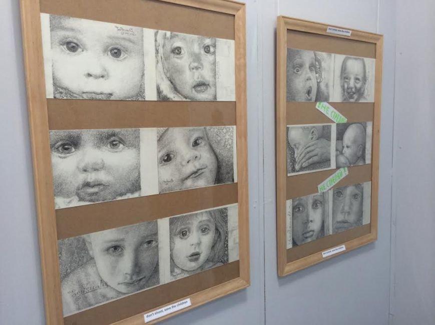 Мариупольский художник призвал не стрелять в маленьких ангелов (ФОТО), фото-1