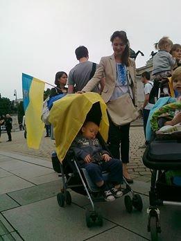 Луганчанин показал, как протестуют против приезда Путина в Вене (ФОТО), фото-2
