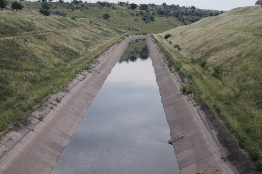 В канале поднимается уровень воды. Но артемовцам ее еще не качают (ФОТО), фото-3