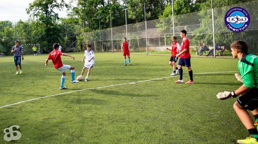 В Днепропетровске завершились соревнования в детско-юношеской футбольной лиге «Престиж», фото-2