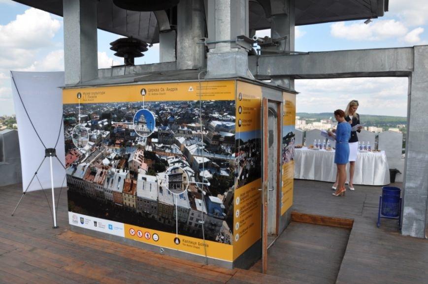 На вежі Ратуші відкрили панораму міста, яка підкаже якою пам'яткою архітектури ви щойно милувалися (ФОТО), фото-1