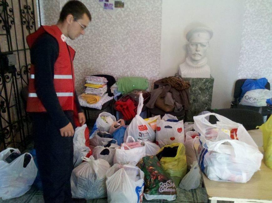 Мариупольцы продолжают помогать беженцам в Новоазовском районе (ФОТО), фото-1