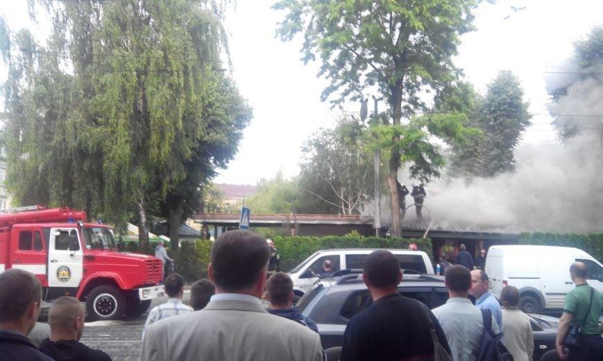 Пожежу в кафе «Перлина Львова» вже погасили (ФОТО), фото-3