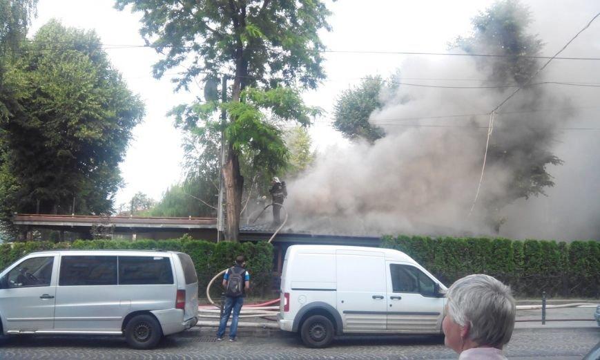 Пожежу в кафе «Перлина Львова» вже погасили (ФОТО), фото-2