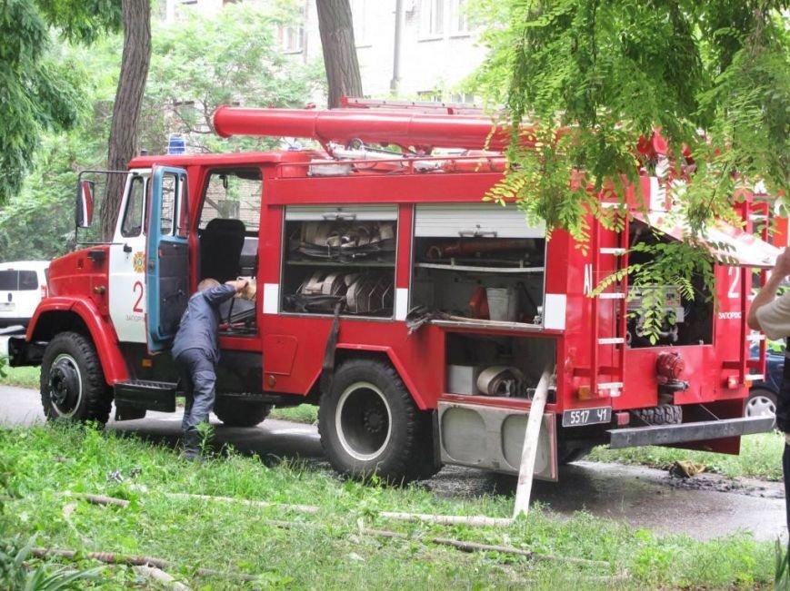 В Запорожье пожар в квартире застал врасплох беременную женщину (ФОТО), фото-1