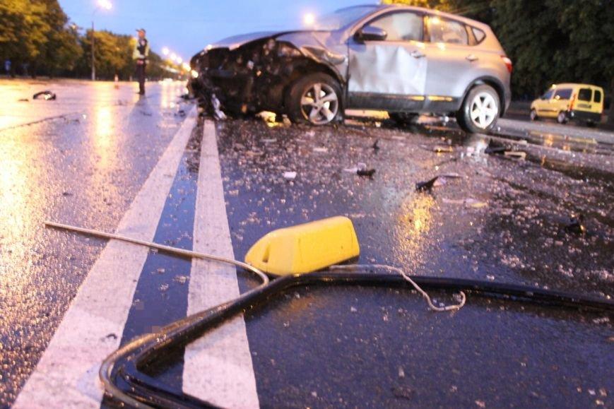 ДТП в Кривом Роге: при столкновении ВАЗа и Nissan'а пострадали 9 человек (ФОТО, ДОПОЛНЕНО), фото-1
