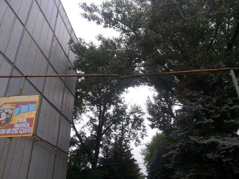 В Артемовске из-за обстрела воинской части пострадали газопроводы (ФОТО), фото-1