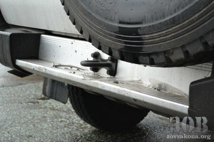 В Днепропетровске автомобиль миссии ОБСЕ попал в ДТП (ФОТО), фото-2