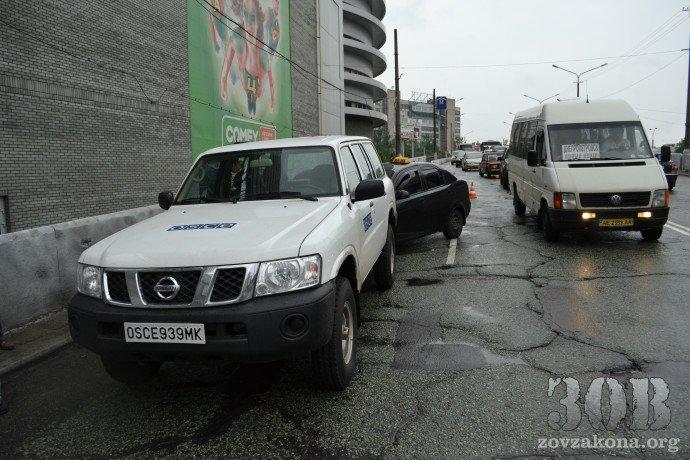 В Днепропетровске автомобиль миссии ОБСЕ попал в ДТП (ФОТО), фото-6