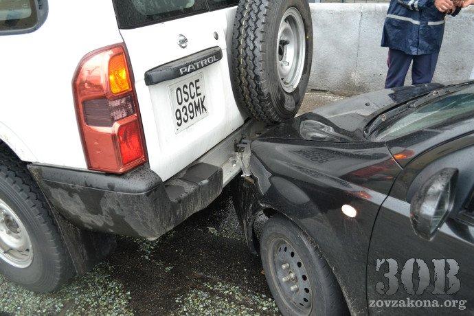 В Днепропетровске автомобиль миссии ОБСЕ попал в ДТП (ФОТО), фото-7