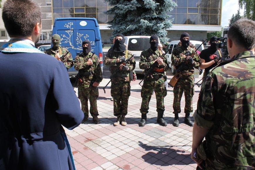 «Повертайтесь живими та здоровими» - Луцьк проводжає бійців «Правого сектору» на Схід, фото-13