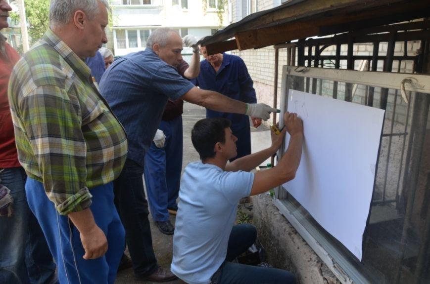 Фото сонячного колектора, який нагріє воду у львівській школі та зекономить дорогий газ (фоторепортаж), фото-4