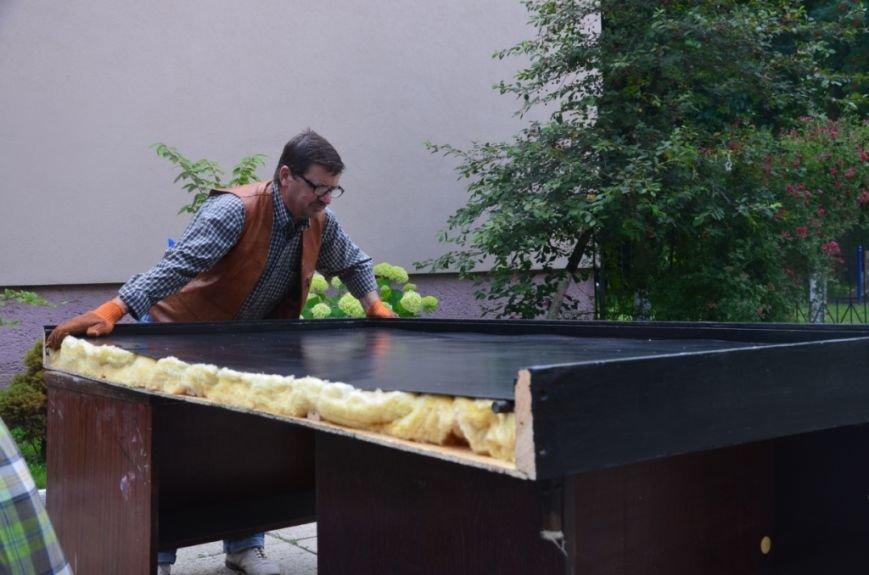Фото сонячного колектора, який нагріє воду у львівській школі та зекономить дорогий газ (фоторепортаж), фото-8