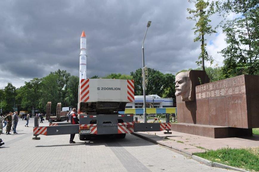Вместо демонтированного Ленина в Днепропетровске установят памятник погибшим в сбитом Ил-76 десантникам - Цензор.НЕТ 9502