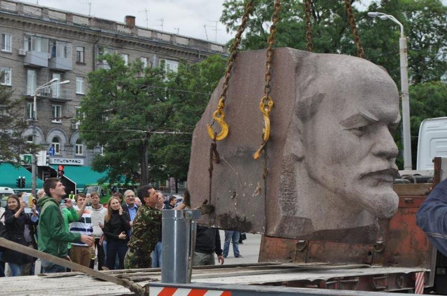 Вместо демонтированного Ленина в Днепропетровске установят памятник погибшим в сбитом Ил-76 десантникам - Цензор.НЕТ 934