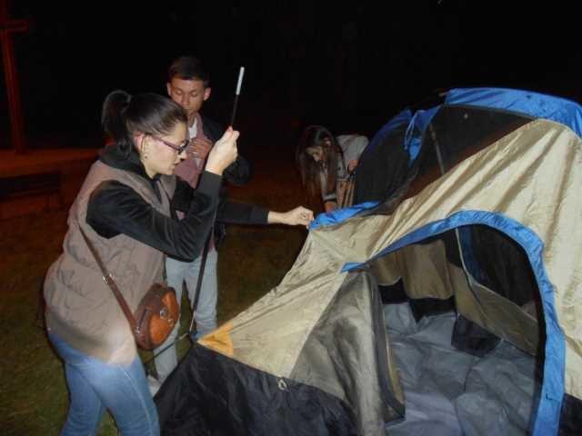 Вночі у Тернополі на «Острівку кохання» – ловили «сепаратистів» (фото), фото-3