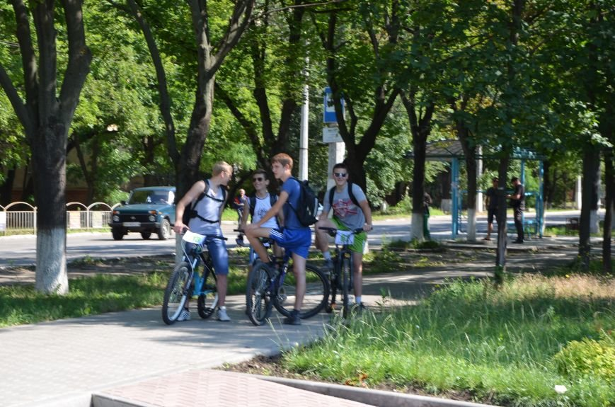 В Мариуполе более 100 велосипедистов проехались по центральным улицам (ФОТОРЕПОРТАЖ), фото-4