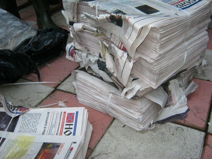 В Чернигове СБУ задержала сепаратиста с газетами «Новороссия», фото-2