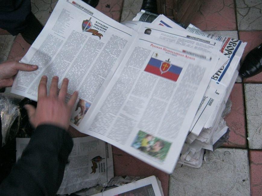 В Чернигове СБУ задержала сепаратиста с газетами «Новороссия», фото-3