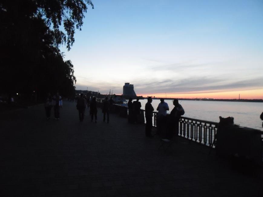 Как в Днепропетровске герб Украины на «Парусе» светился (ВИДЕО, ФОТО), фото-2