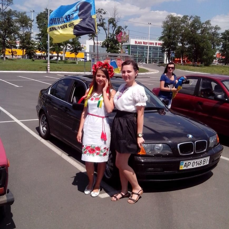 В Мариуполе прошел автопробег в поддержку Украины (ФОТО), фото-3