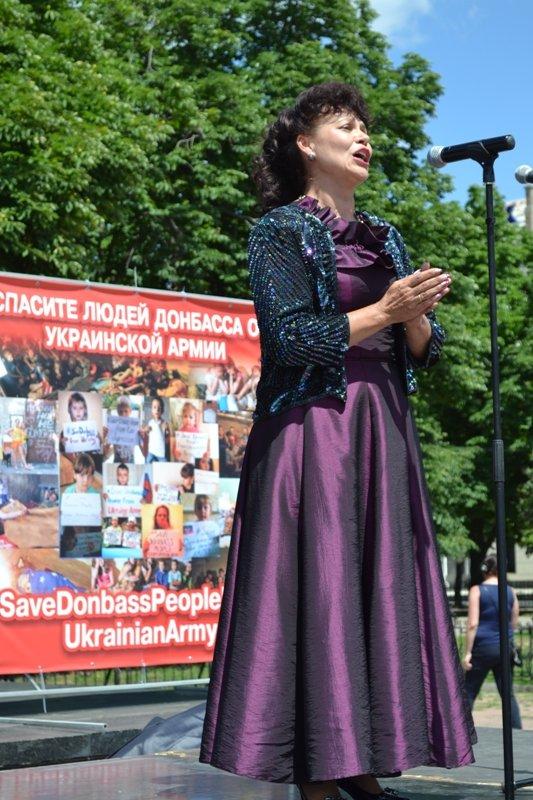 В Луганске митинговали за мир и против «киевской хунты». ФОТО, фото-4