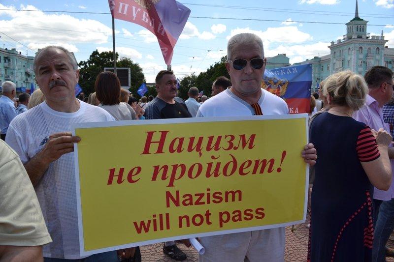 В Луганске митинговали за мир и против «киевской хунты». ФОТО, фото-3