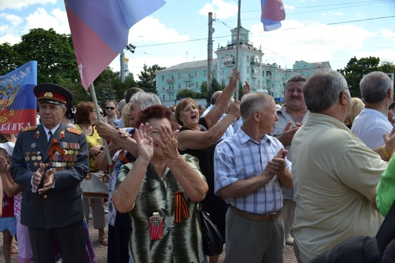 В Луганске митинговали за мир и против «киевской хунты». ФОТО, фото-2