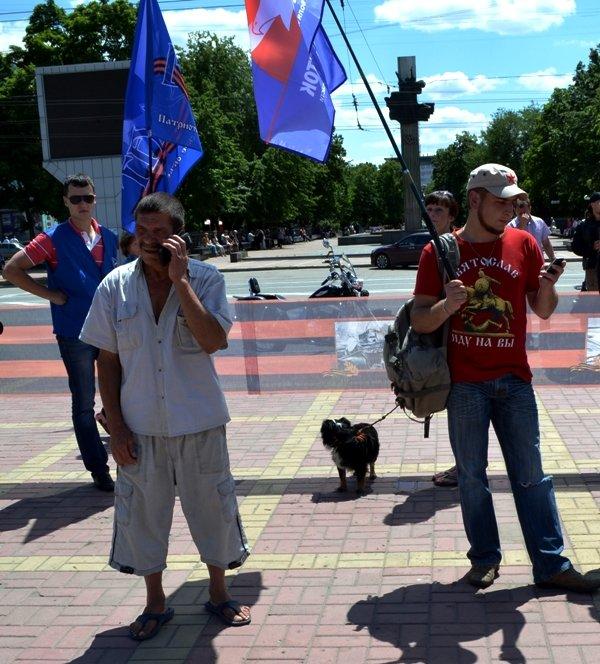 В Луганске митинговали за мир и против «киевской хунты». ФОТО, фото-6