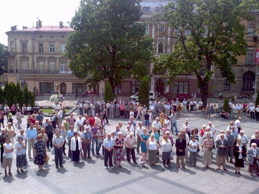 У Львові масово помолились за здоров'я українських військових у зоні АТО, фото-1