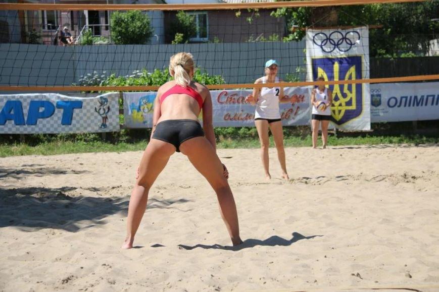 В Чернигове на «Переправе» определили сильнейших пляжников, фото-9