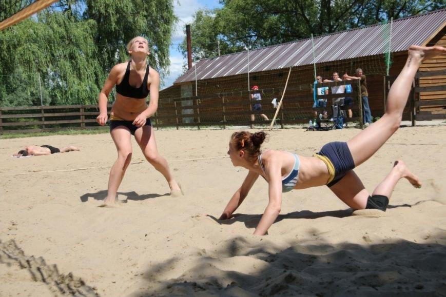В Чернигове на «Переправе» определили сильнейших пляжников, фото-6