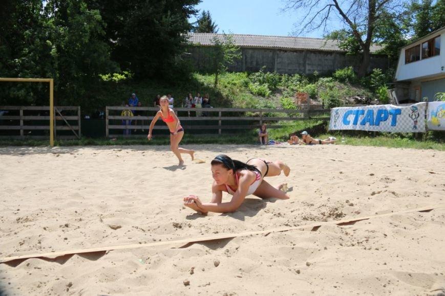 В Чернигове на «Переправе» определили сильнейших пляжников, фото-8