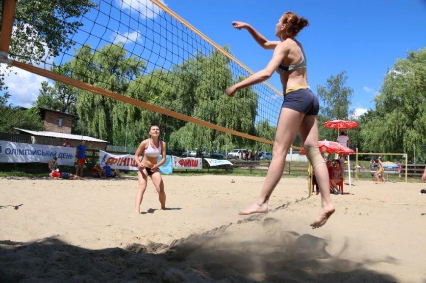 В Чернигове на «Переправе» определили сильнейших пляжников, фото-7