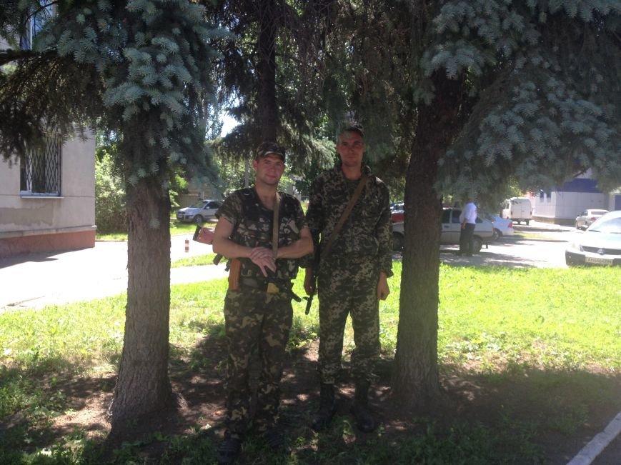 Красноармейск посетила «таинственная делегация» под охраной украинской армии (ФОТО), фото-2