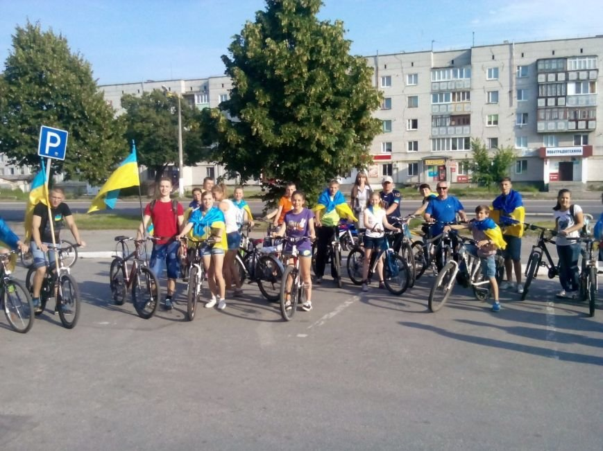 Коростишів об'єднався у «Велопробіг Нероздільності України», фото-3